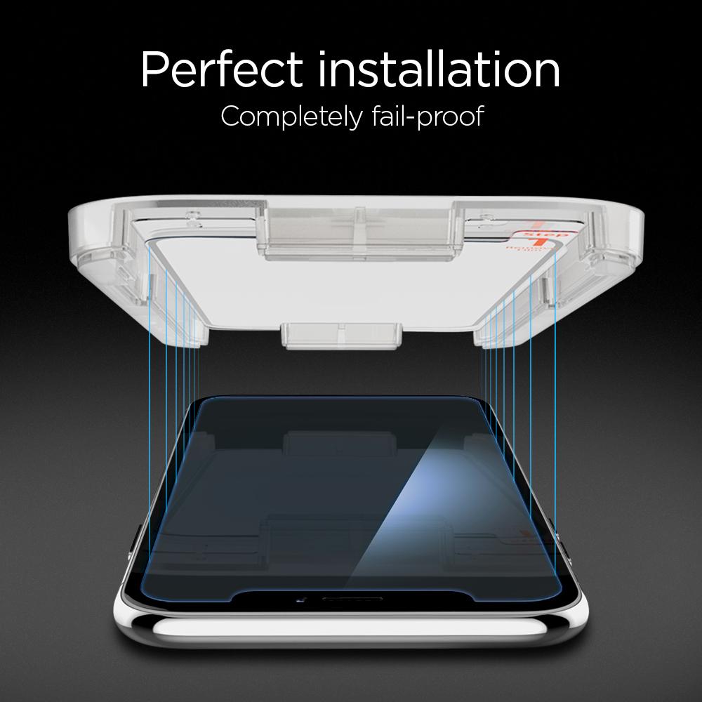Spigen Glas.tR EZ Fit - iPhone XR/11