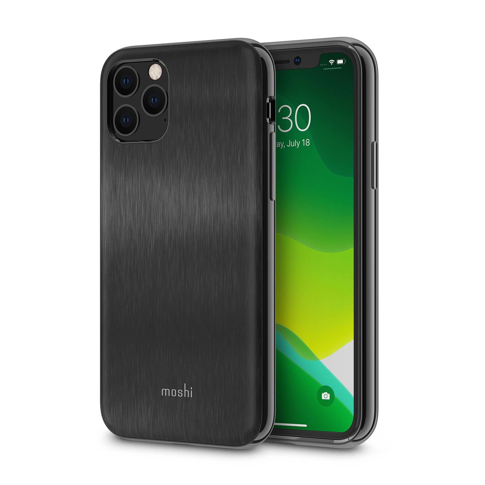 Moshi iGlaze Slim Hardshell Back Cover Armour Black , iPhone 11 Pro