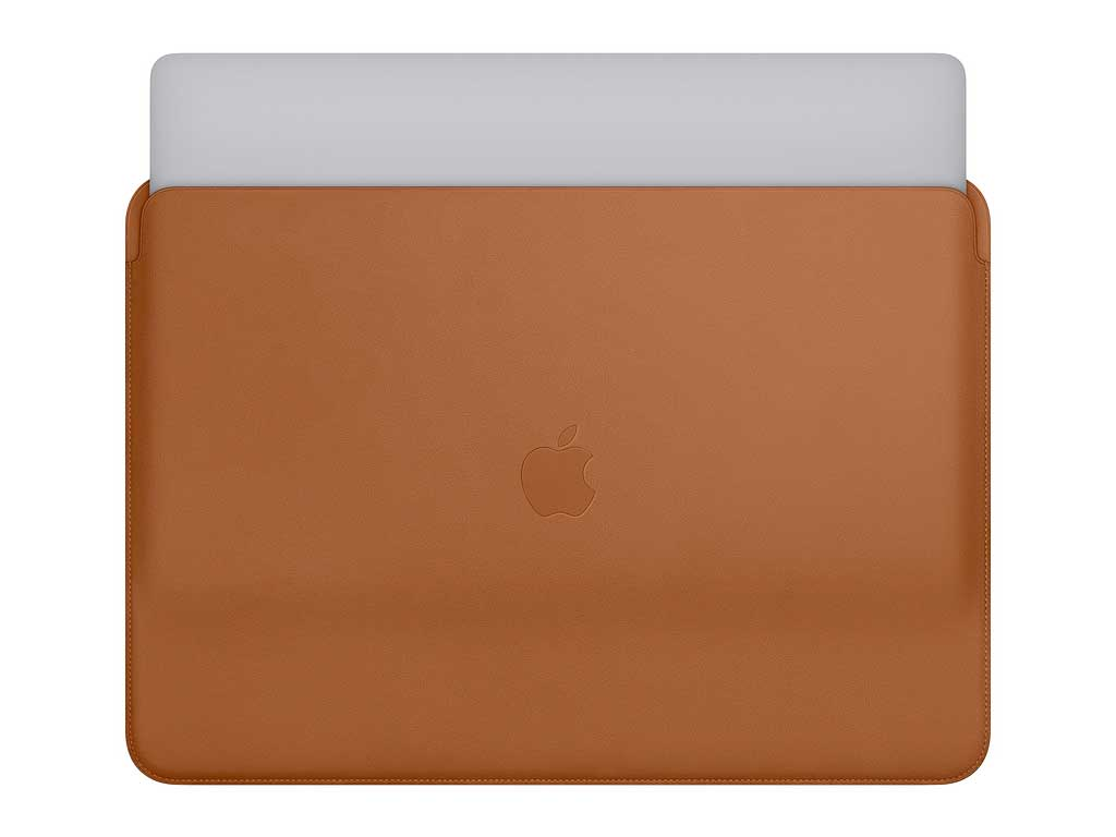 Apple Leather Sleeve for MacBook Pro 13 (Saddle Brown)